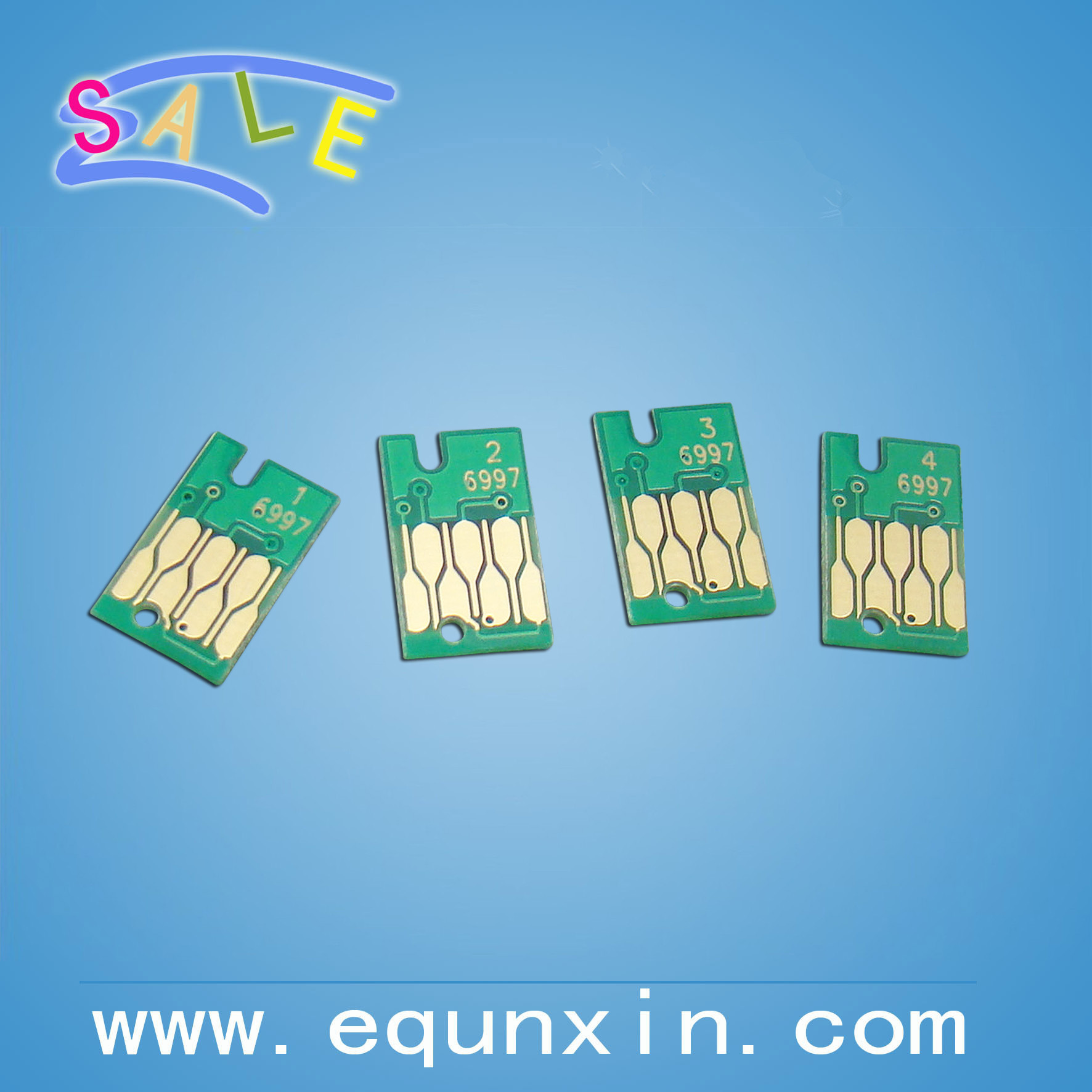 waste tank chip for Epson P6000 P7000 P8000 maintenance tank chips T6997 chips one time use